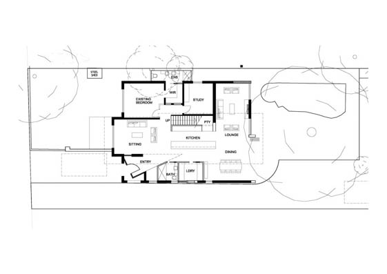 Brighton east residence 01 papapetrou rice architecture for Brighton floor plans